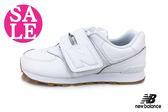 New Balance 574運動鞋 真皮 全白 學生鞋 運動鞋 零碼出清 M8561#白色◆OSOME奧森童鞋