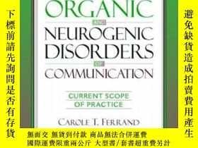 二手書博民逛書店Introduction罕見To Organic And Neurogenic Disorders Of Comm