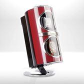 【Jebely】機械手錶自動上鍊盒 複合材質 JBW091 魅力紅 雙手錶轉台 動力儲存錶機 台灣製