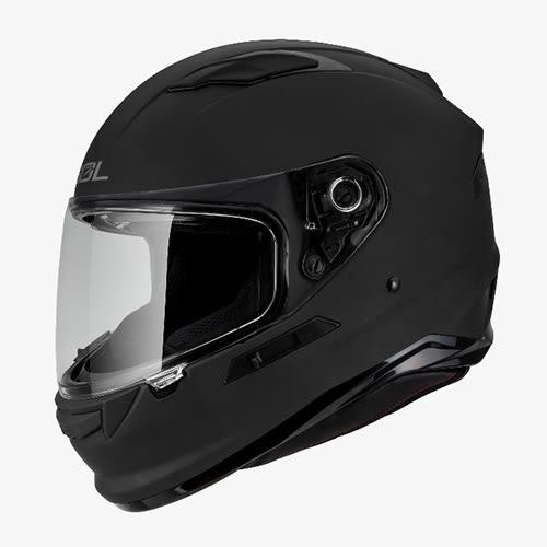 【東門城】SOL SF-6 素色(消光黑) 全罩式安全帽 雙鏡片 內墨鏡