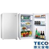 東元 99公升單門小鮮綠冰箱(白色) R1091W