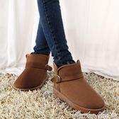 雪地靴 冬季防滑保暖短筒雪地靴女靴子學生平底短靴冬靴棉鞋情侶男女鞋潮 全網最低價