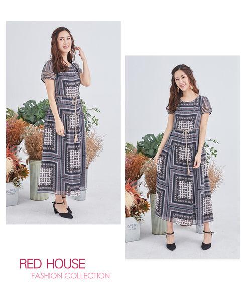 Red House 蕾赫斯-波希米亞風長洋裝(共2色)