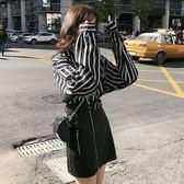 中大尺碼女裝L-4XL秋季新款洋氣網紅心機套裝顯瘦遮肉減齡胖妹妹兩件套3F057.6503皇潮天下