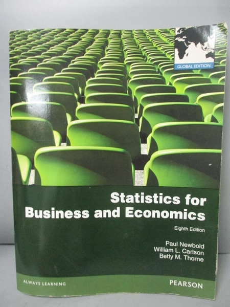 【書寶二手書T9/大學商學_PEM】Statistics for Business and Economics_Paul