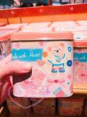♥小花花日本精品♥海洋迪士尼樂園限定2019Duffy&Friends情人節系列巧克力餅乾鐵盒附巧克力90221002