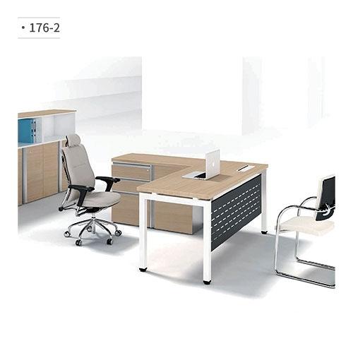 辦公桌/主管桌 (鋁合金鋼腳) 176-2 (請來電詢價)