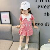 女童洋裝 1-4歲女寶寶洋裝韓版洋氣女童裙子 珍妮寶貝