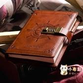 筆記本密碼本帶鎖小學生日記本簡約大學生讀書筆記本子加厚創意手賬本 【八折搶購】