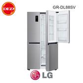 樂金LG GR-DL88SV 冰箱 精緻銀 / 821公升 直驅變頻壓縮機 十年保固 ※運費另計(需加購)