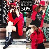 克妹Ke-Mei【AT47373】歐洲站 字母玫瑰織帶馬甲牛仔外套+M美胸洋套裝