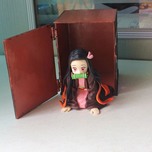 GK UP Art MINI 竈門 禰豆子 鬼滅之刃 箱子 手辦 玩偶 人形玩偶 炭治郎