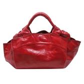 LOEWE 羅威 紅色羊皮手提包 Nappa Aire Handbag【二手名牌BRAND OFF】