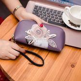 長夾女 新款韓國可愛卡通手拿包長款錢包女士拉鍊包手機包女零錢包女 卡菲婭