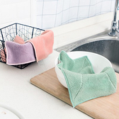 吸水不掉毛柔軟抹布 洗碗巾 不沾油 家用 廚房 洗碗布 清潔巾【P358】生活家精品