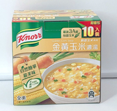 好市多 康寶 金黃玉米濃湯 超值包 10入 濃湯 全素 素食