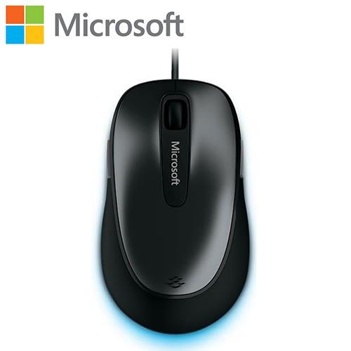 Microsoft 微軟 舒適 4500 有線滑鼠 黑