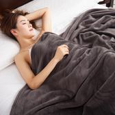 凱詩風尚法蘭絨毯  純色辦公室午睡小毯子蓋毯加厚毛毯床單空調毯推薦【店慶85折促銷】