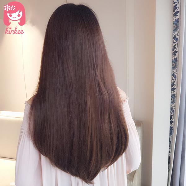 *╮Kinkee假髮╭*韓系高仿真 超自然 無痕 U字形 蓬鬆 增加髮量 髮片 假髮【B5038】