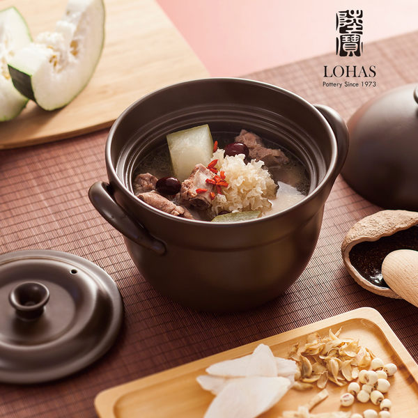 陸寶陶鍋【洋風雙層蓋鍋】3號  4.6L