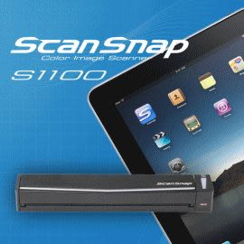 Fujitsu ScanSnap S1100 輕巧隨身文件掃描器 / 台