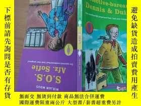 二手書博民逛書店detective-bureau罕見dennis & duif 【荷蘭語原版】Y269331 A S BYAT