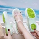 洞洞鞋女防滑厚底涼鞋