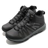 Merrell 戶外鞋 Zion FST Mid Waterproof 黑 灰 男鞋 防水透氣 越野 中筒 運動鞋 【ACS】 ML035475