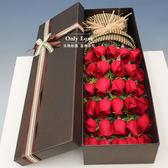 情人花束 情人節紅粉香檳玫瑰花束禮盒生日上海鮮花速遞同城花店配送花女友 霓裳細軟