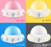 插電小夜燈遙控臺燈臥室床頭寶寶睡眠創意夢幻可調光嬰兒喂奶護眼220v   color shop