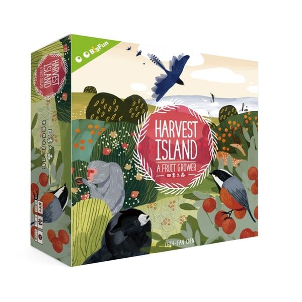 【樂桌遊】C經營桌遊-四季之森 Harvest Island (繁中版)