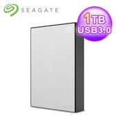 【SEAGATE 希捷】Backup Plus Slim 1TB USB3.0 2.5吋行動硬碟 星鑽銀