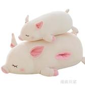 可愛小豬毛絨玩具暖手捂抱枕插手公仔玩偶女孩超萌布娃娃睡覺床上MBS『潮流世家』