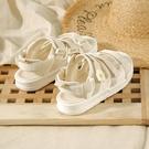 低跟涼鞋 環球小雛菊涼鞋女2020新款夏季百搭魔術貼仙女風ins潮運動沙灘鞋