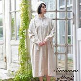 ❖ Spring ❖ 胸前花卉刺繡連身洋裝 (提醒➯SM2僅單一尺寸) - Sm2