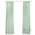窗簾物理遮光隔熱窗簾布定制 簡約現代短簾 臥室陽台飄窗窗簾成品客廳