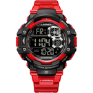Transformers 變形金剛 聯名限量運動風電子腕錶(御天至尊)LM-TF005.SP41N.141.4NB