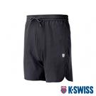 K-SWISS PF Woven Short W/Mesh運動短褲-男-黑