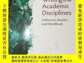 二手書博民逛書店Writing罕見for the Academic Discip