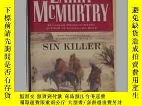 二手書博民逛書店英文原版罕見Sin Killer by Larry McMurt