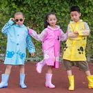 雨衣 叮叮虎兒童雨衣幼兒園男童女童寶寶雨衣小學生小孩防暴雨雨衣雨披【年中慶八五折鉅惠】