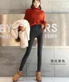 打底褲女褲外穿小腳2018新款秋冬季高腰黑色緊身保暖棉褲加厚加絨
