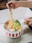 日式搪瓷奶鍋煮面熱牛奶鍋泡面寶寶輔食家用小鍋1人電磁爐 交換禮物