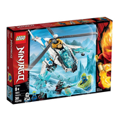 70673【LEGO 樂高積木】旋風忍者系列 Ninjago -冰忍的直升機(361pcs)