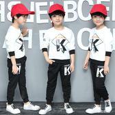 兒童新款韓版潮流男童秋裝休閒男孩15歲秋季套裝    LY6342『愛尚生活館』