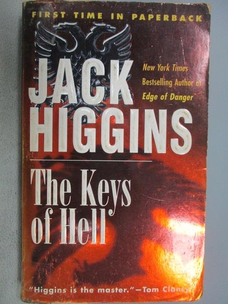 【書寶二手書T8/原文小說_CIU】The key of Hell_Jack Higgins