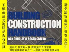 二手書博民逛書店Building罕見Construction HandbookY