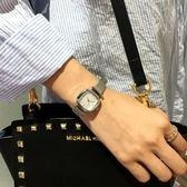 手錶氣質金屬手錶女學生方形簡約時尚正韓百搭復古休閒腕錶情侶錶最後1天下殺75折