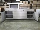 【石川傢居】客製化專區 ET-523 白枕木特定款組合餐櫃 可訂製尺寸/可選色/台灣製造