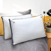 【Indian】摩登立體涼感透氣兩用枕(2顆)